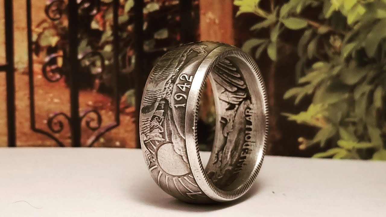 How to Make a Silver Walking Liberty Half Dollar into a Coin Ring