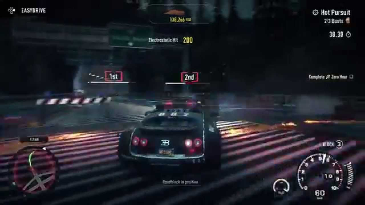 need for speed rivals hot pursuit hard out in the open bugatti veyron 1. Black Bedroom Furniture Sets. Home Design Ideas