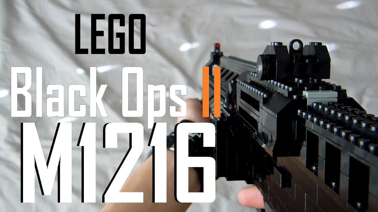 Call Of Duty: Black Ops 2: LEGO M1216 - ViYoutube M1216 Black Ops 2