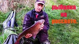 Весенняя рыбалка на водохранилище Крыница Рыбалка на рассвете Ловля фидером