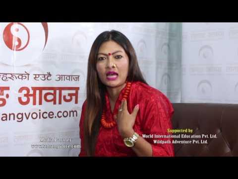 Tamang Voice -  Interview by Banu Lopchan Tamang with Miss Tamang Program Director Ranjeeta Lama