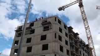 Два дома по реновации строят на Флотской улице
