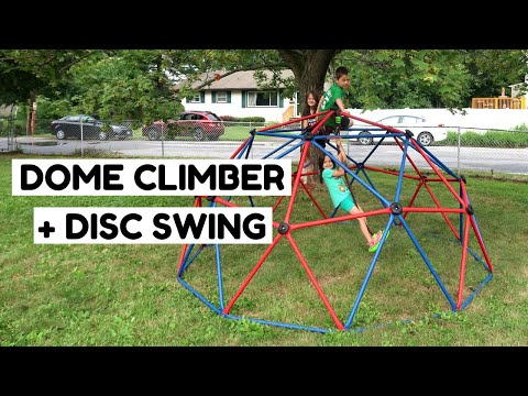 How To Get Your Kids To Play Outside - Lifetime Dome Climber Assembly + Review
