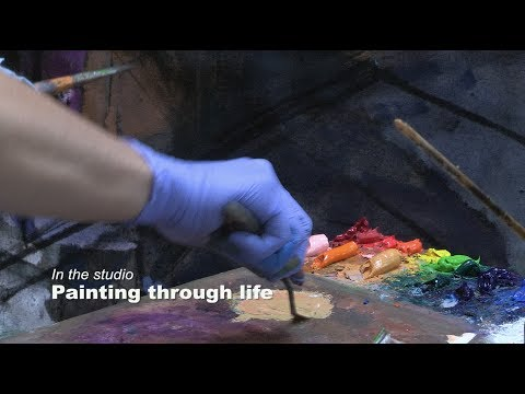 In the studio: Painting through life