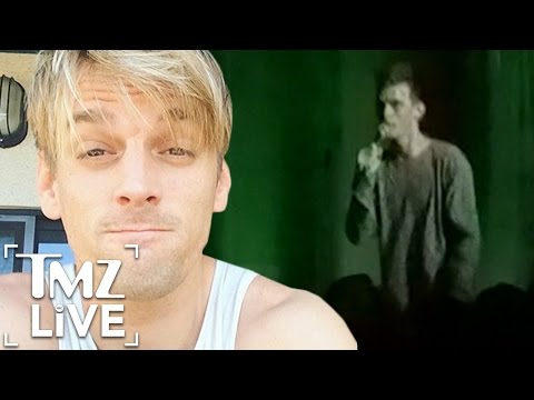 Aaron Carter Freaks Out On Tour | TMZ Live