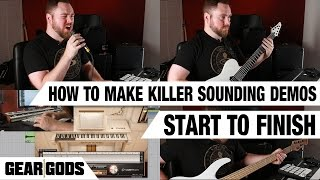 How To Make Killer Sounding Demos, Start To Finish | ASK A PRODUCER