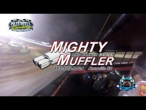 #28J Justin James - Sportsman - 6-2-17 Tazewell Speedway - In-Car Camera