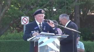 Robert Hanna Victoria Cross Plaque Unveiling Ceremony (August 24, 2017)
