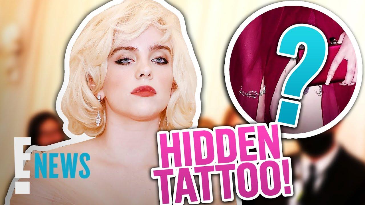 Billie Eilish Reveals HIDDEN Leg Tattoo in 2nd Met Gala Look News