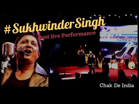 Sukhwinder Singh's best live performance |Song compilation|Audience reaction |Jai ho|