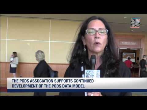 speaks about the PODS Data model and importance of Pipeline summit