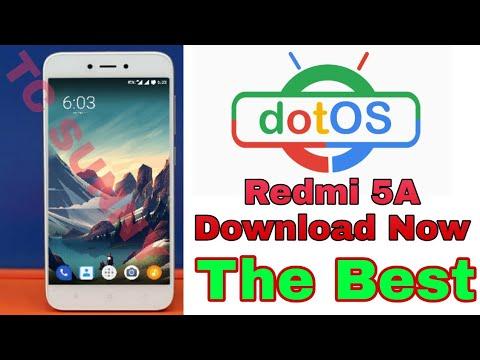 Dot_OS ROM Redmi 5A Best Custom ROM Redmi 5A All OK No Problem No Bug #7