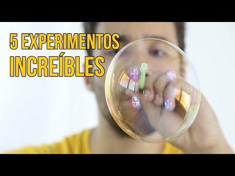 5 EXPERIMENTOS CON AGUA PARA NIÑOS (Recopilación)
