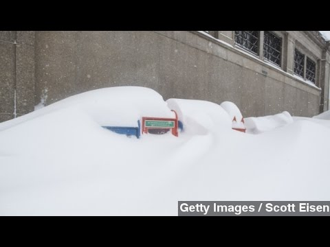 Weekend Storm Dumps More Snow On Still-Buried Northeast