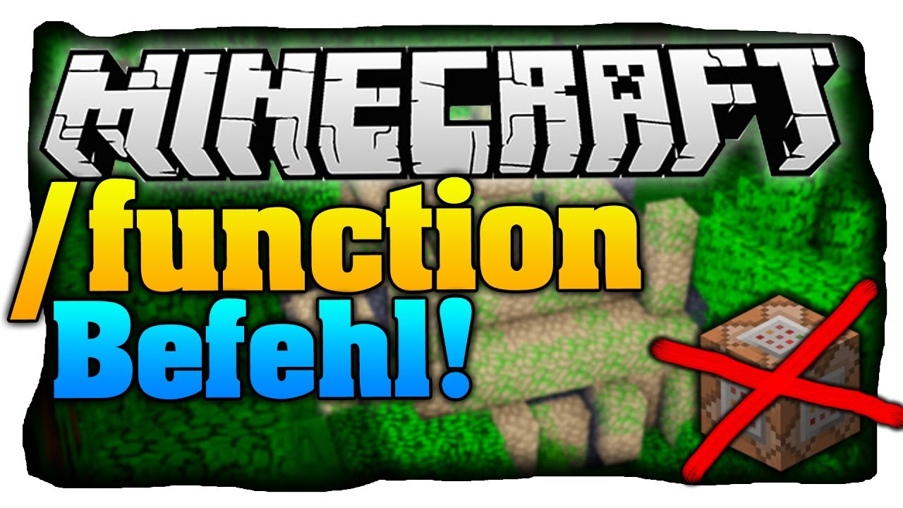 how to make a function minecraft