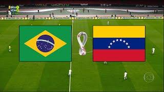 BRASIL X VENEZUELA - ELIMINATÓRIAS DA COPA 2020 - 13/11/2020 - PES 2021