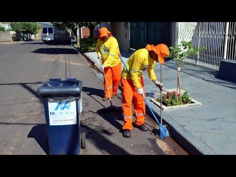 Gerenciamento de Limpeza Urbana - Varrição Pública