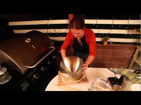 Sweet Potato Pecan Tart, Grill Style Recipe