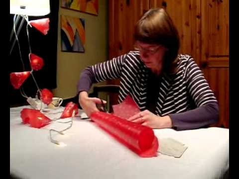 Top Lampenschirmchen für Lichterketten basteln - YouTube RX71