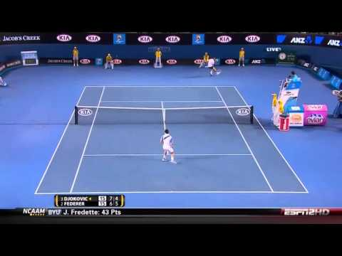Federer vs. Djokovic - Australian Open 2011 (HD)