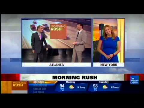 Eric Fisher last day at Weather Channel