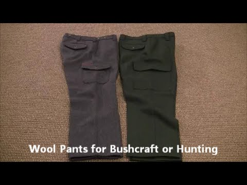 Schnee's Wool Pants And Cabela's Legacy Wool Pants - Winter Clothing Mini Series