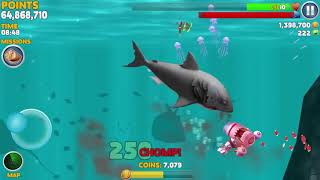 Game Android #1099 Hungry Shark Evolution Robo Shark Android Gameplay