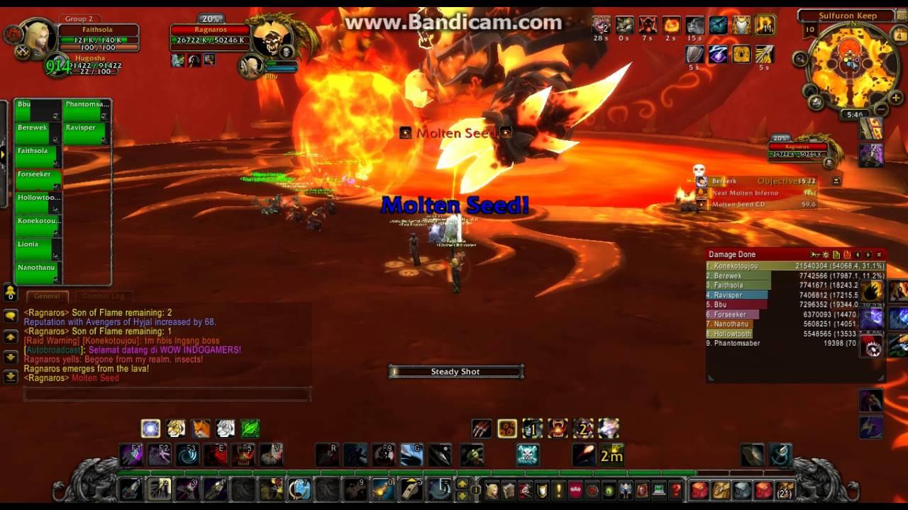 Download World of Warcraft AMPM IDGS Raid on Fireland ( Ragnaros )
