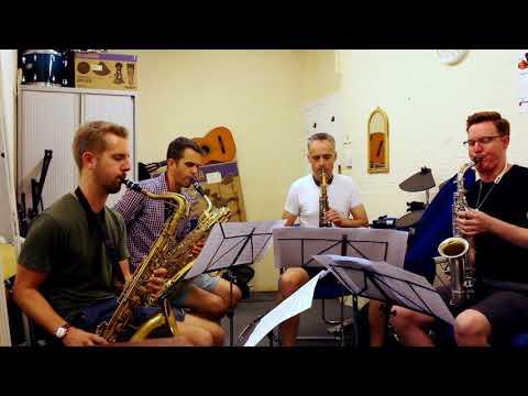 Washboard Blues - Michael McQuaid Saxophone Quartet thumbnail