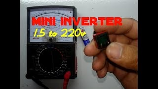 Download Video Cara membuat Mini inverter 1,5v to 220v dari bekas trafo charger hp MP3 3GP MP4