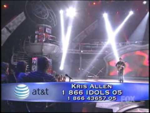 Kris Allen Heartless Performances American Idol