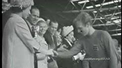 Fussball WM 1966 - Deutschland vs England (Wembley Tor Finale)