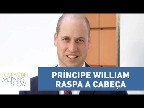 Príncipe William raspa a cabeça e vira principal assunto no Reino Unido!
