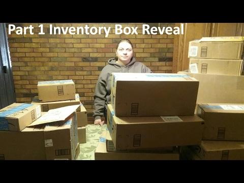 Part # 1 Amazon FBA Box Reveal Overstock Long Term Returns