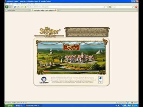 Логин в локализованный Settlers Online