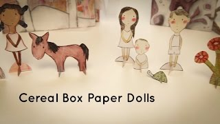 Cereal Box Paper Dolls Online Class