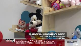 ReStore, un magasin d'objets restaurés à Roubaix qui favorise la réinsertion