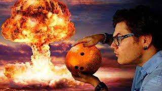 Et Si Une Boule de Bowling Frappait la Terre à 99% de la Vitesse de la Lumière ? (en 360s)
