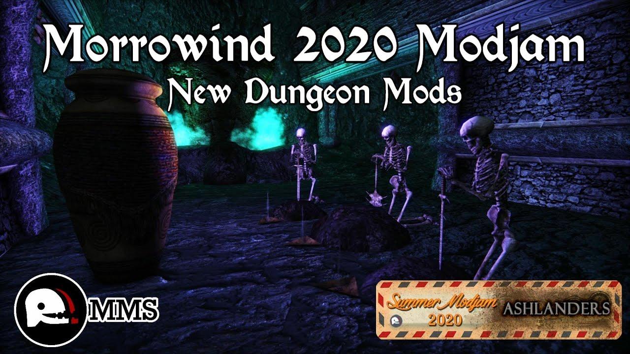 Morrowind Modjam 2020 - New Dungeon Mods for Ashlanders