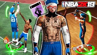 BEST PURE SHARP KINGFRENCH EXPOSES 98 OVERALL AT PARK 🤴🏻 NBA 2K19