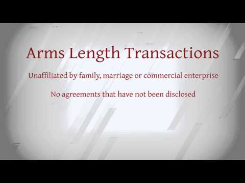 Arms Length Transaction | Short Sale