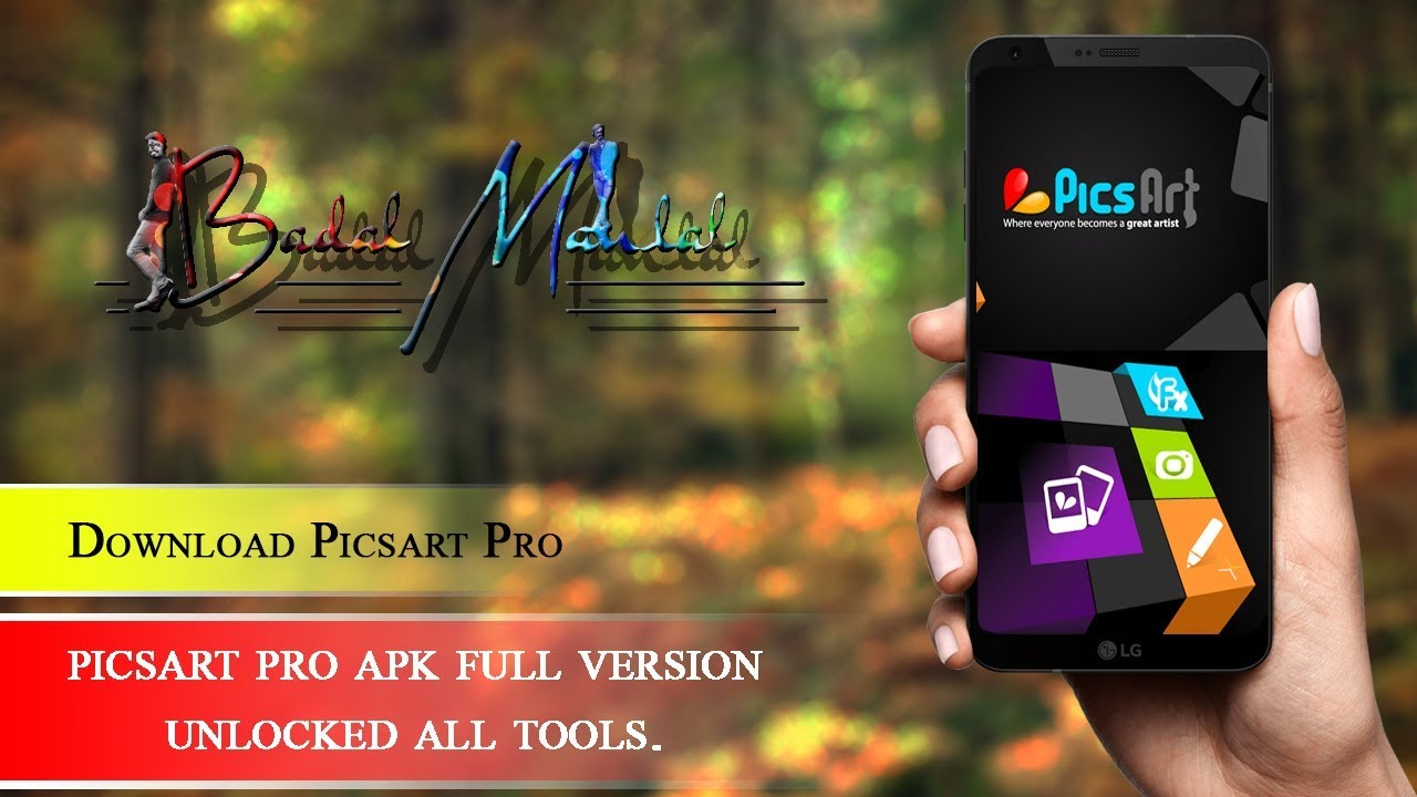 How to download picsart pro apk unlocked all tools? || by BADAL MANDAL ||