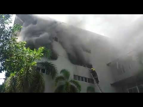 Fire reported at Hameedias stocking area in Ratmalana