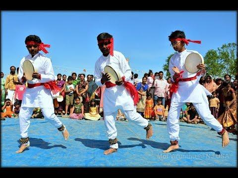 Putham pudhu pattu from Thendral(Parai Dance)