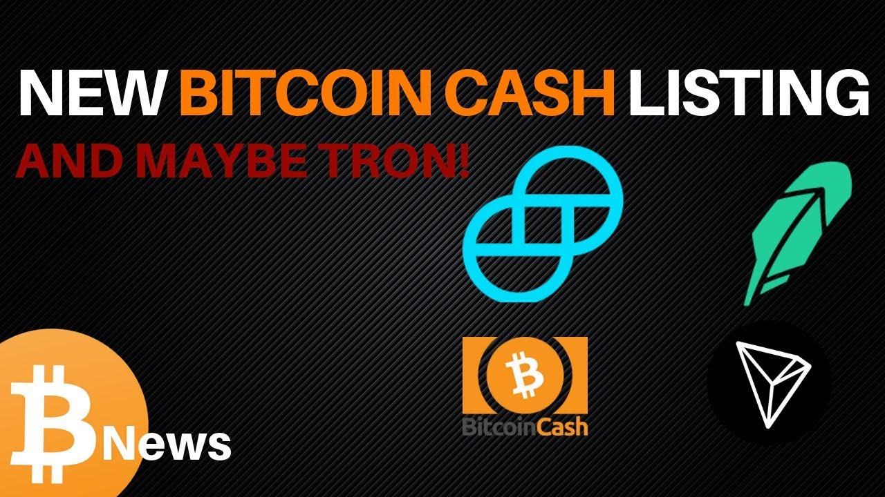 Gemini To Add Bitcoin Cash And Litecoin - Crypto Daily™