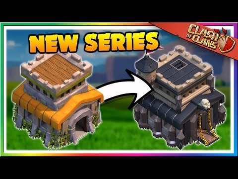 UPGRADING To TOWN HALL 9! Starting The TH9 Let's Play Clash Of Clans