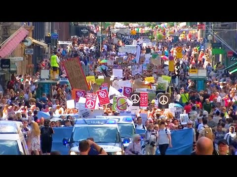 Mass Protests Meet Trump-Putin Summit in Helsinki over Human Rights, Free Speech, Climate Action