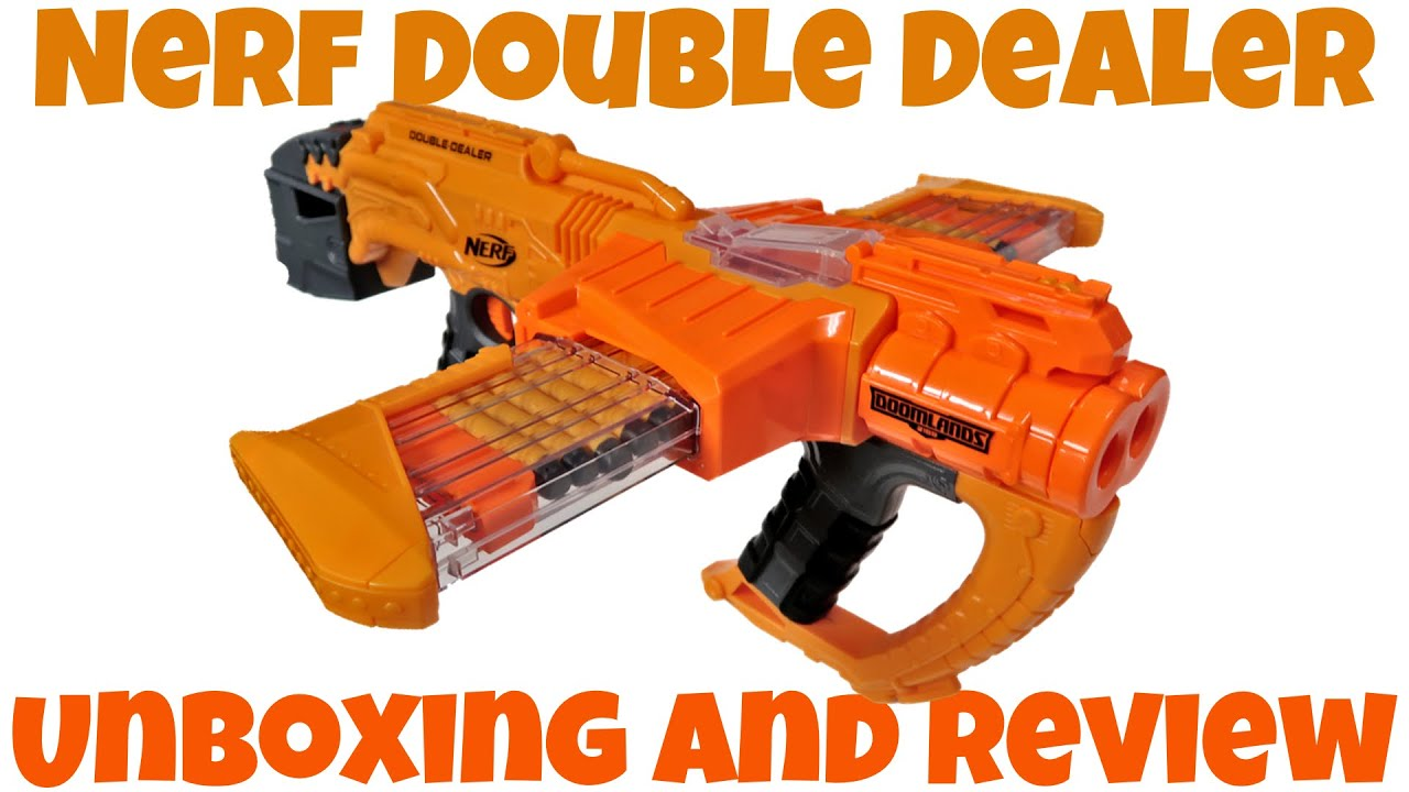 Nerf Doomlands Double Dealer Unboxing and Review