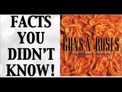 Guns N' Roses: The Spaghetti Incident Facts You Didn't Know!