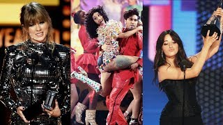 Taylor Swift, Camila Cabello and more winner at American Music Awards 9th October 2018 | HUGE ENTER